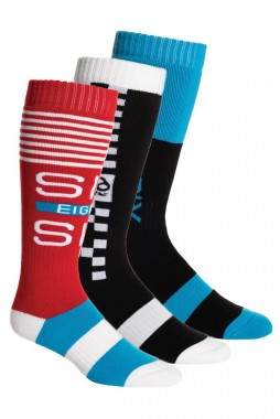 Носки 686 Knockout Sock - Rad